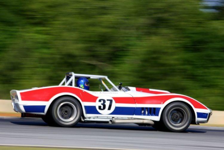 Clair Schwenderman, 68 Corvette