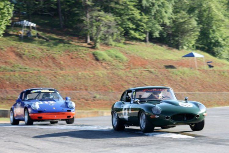Jaguar leading Porsche
