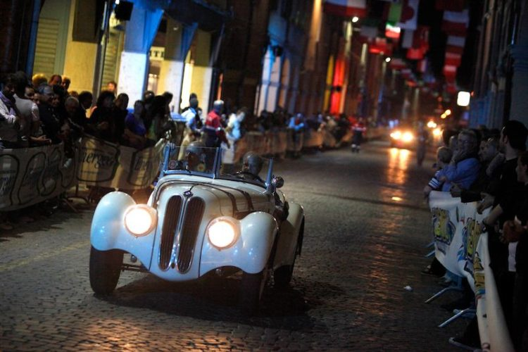 1939 BMW 328 at Mille Miglia 2011