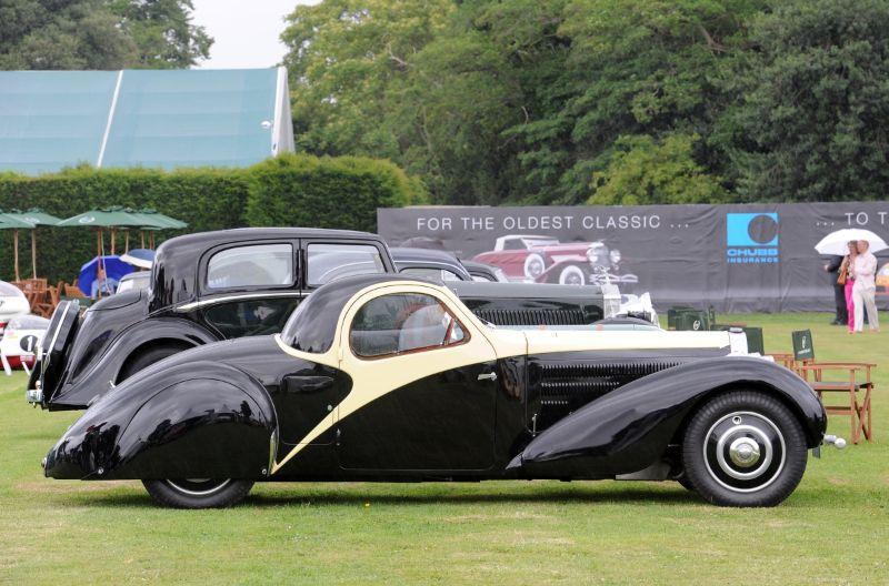 1936 Bugatti T57 Atalante Coupe