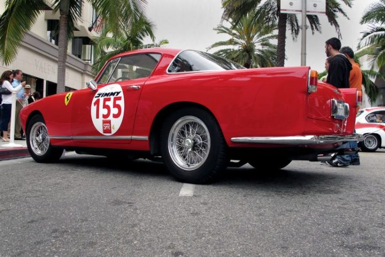 Only eighty-eight of these Ferrari 250 GT Boanos were built during the production period of 1955 to 1957. Carrozzeria Boano was founded near Turin by Mario Boano in 1954.