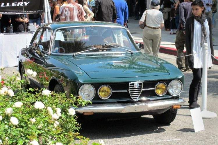 An admiring glance at a no-frills 1969 Alfa Romeo GTV, signifying there's plenty of appeal left in this popular Italian import.