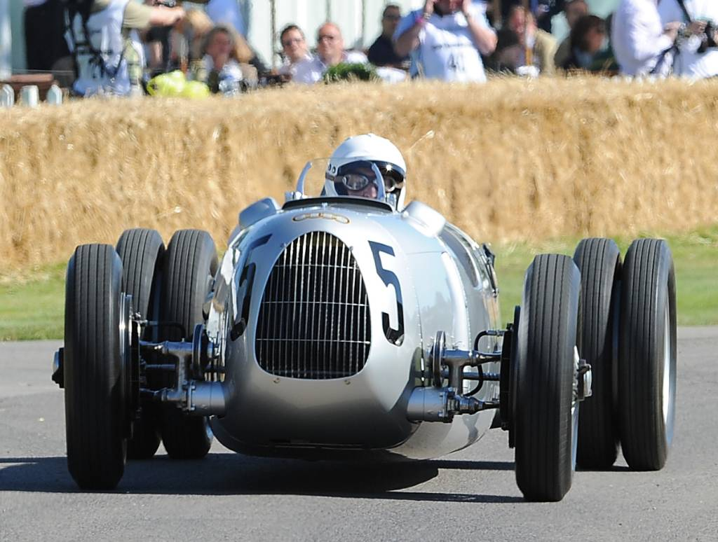 Auto Union Type C, Nick Mason