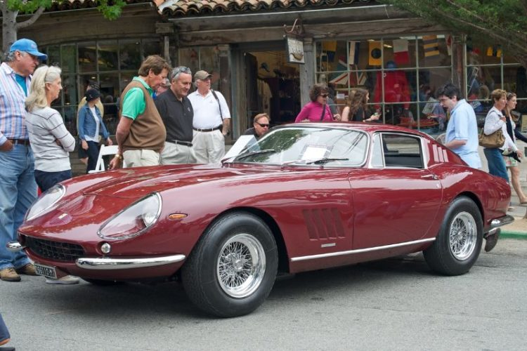 1967 Ferrari 275 GTB/4 cam, owned and driven by Phil White. Chassis # 09931.