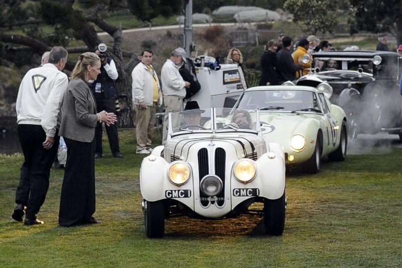 1937 Frazer Nash-BMW 328, Andrew Hall