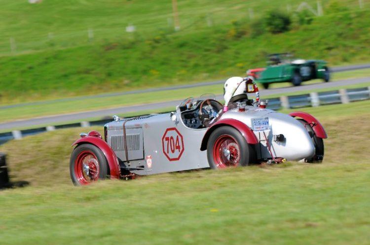 1939 MG-TB, Frank Mount.