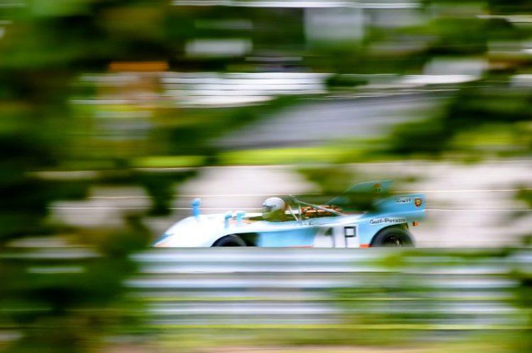 1972 Porsche 908/3, Roger Mandeville.