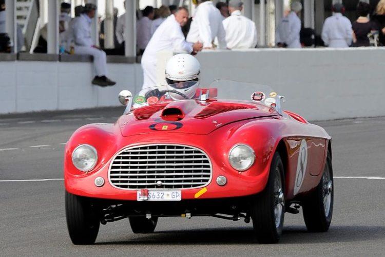 Ferrari 166 MM Barchetta - Gerrie Van Zyl