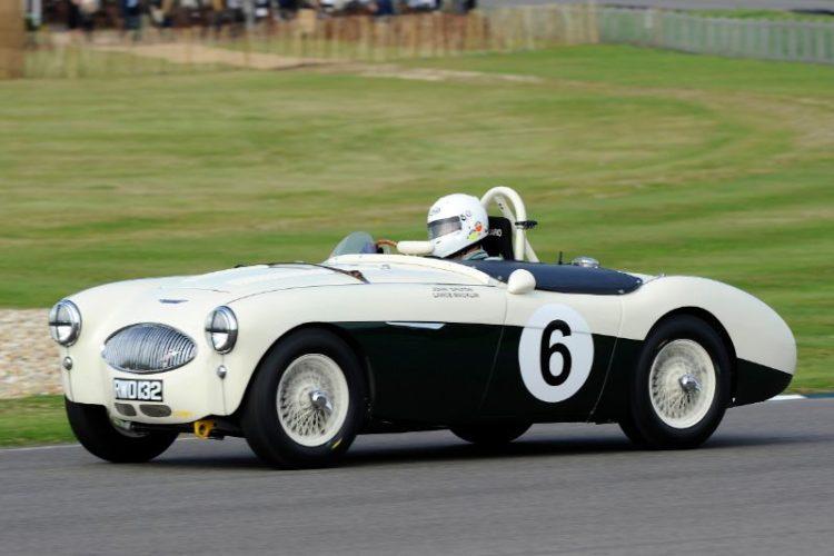 Austin-Healey 100S - Peter Thornton