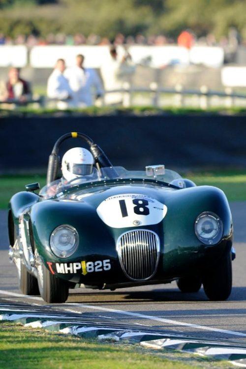 Jaguar C-Type - David Wenman