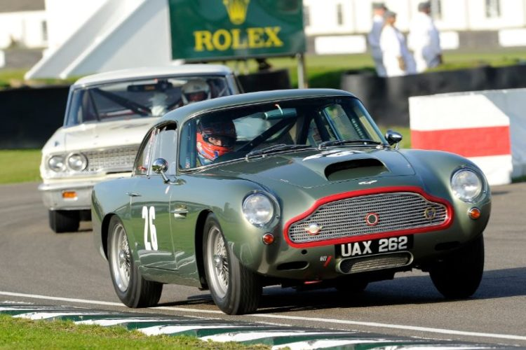 1960 Aston Martin DB4GT - Tiff Needell and Tarek Mahmoud