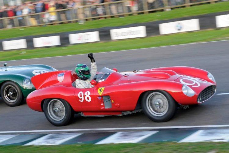 Expires on penultimate lap, Ferrari 857S - James Cottingham