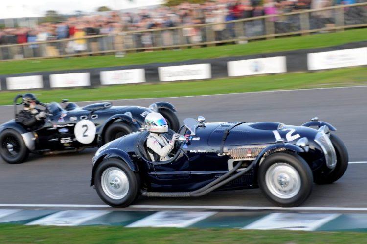 Frazer Nash Le Mans Replica - Holly Mason-Franchitti and Allard J2 - Patrick Watts
