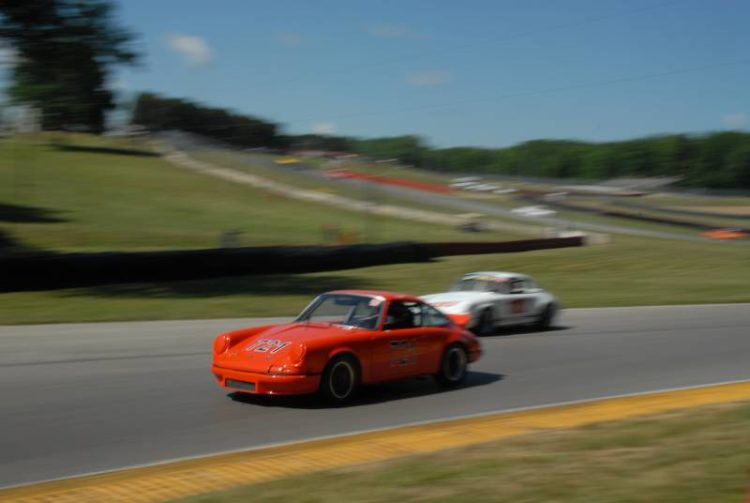 Richard Naze, Porsche 911.