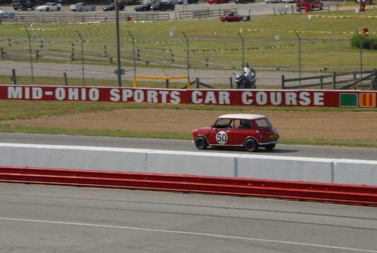 1966 Morris Mini Cooper- Mark Pentz.