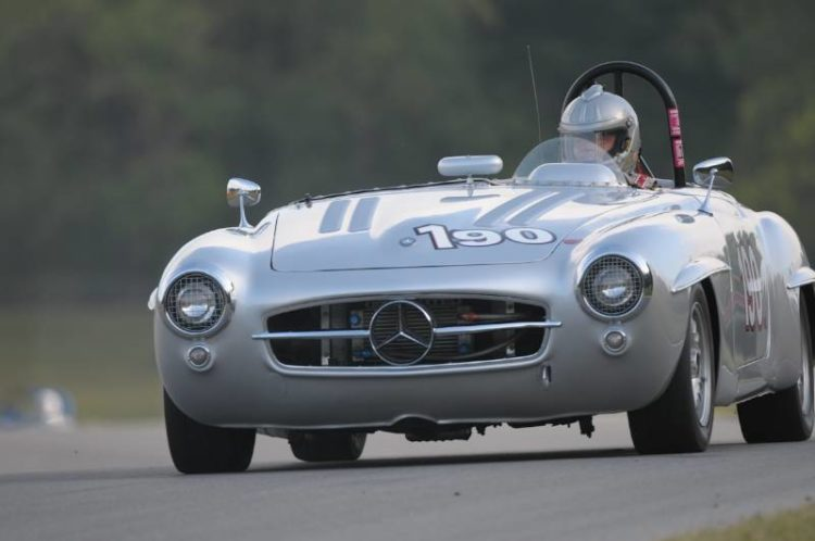 This is one beautiful automobile- 1955 Mercedes Benz 190SL of Doug Radix.
