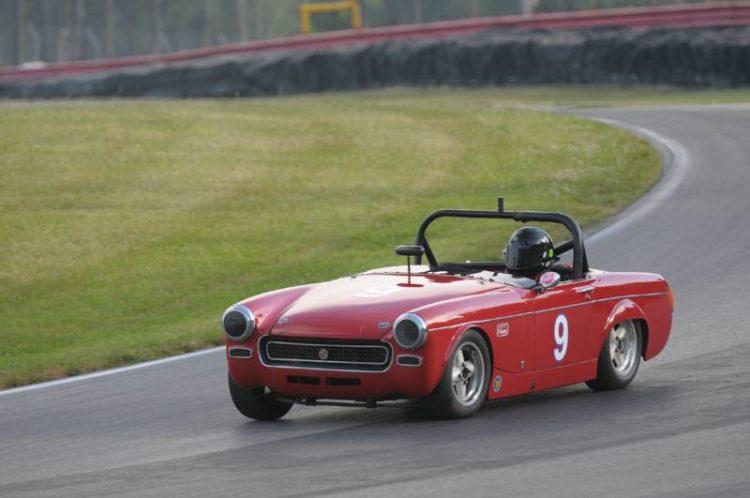 Derek Chima- 1966 MG Midget.