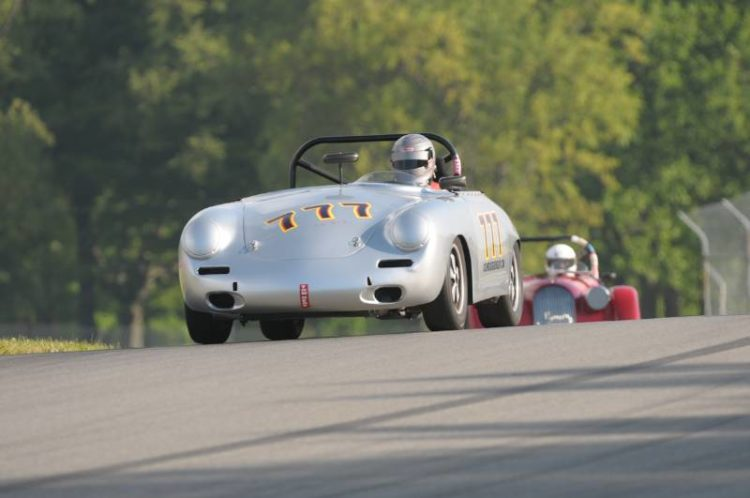 John Schrecker, 1964 Porsche 356.
