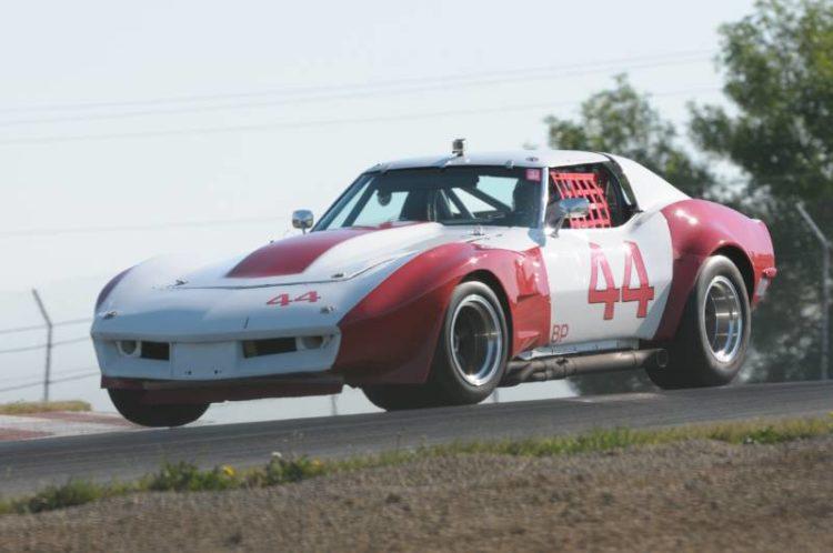 Charles Powell '72 Corvette.