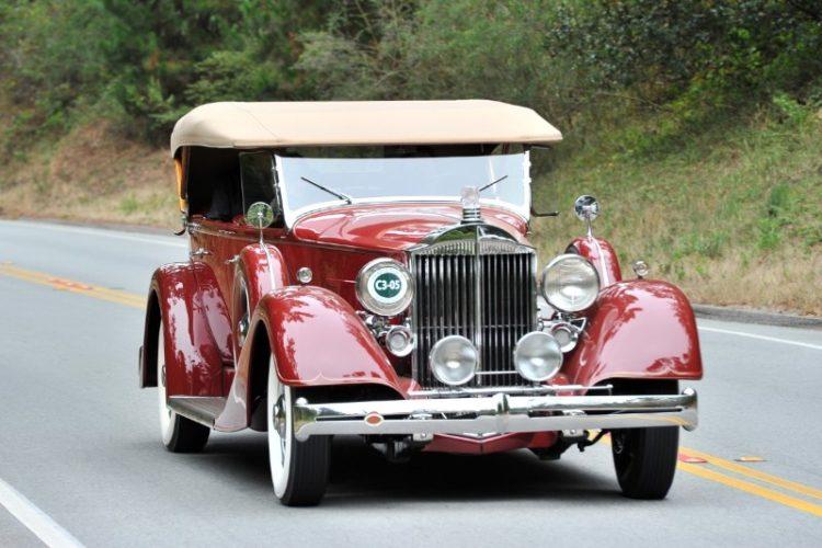 1934 Packard 1104 Super Eight Phaeton