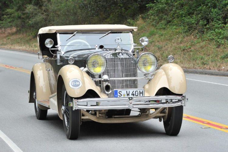 1930 Mercedes-Benz SS Sport Four Roadster