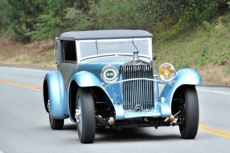 1932 Delage D8 SS100 Figoni Cabriolet