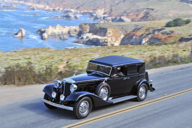 1931 Marmon Sixteen LeBaron Club Sedan
