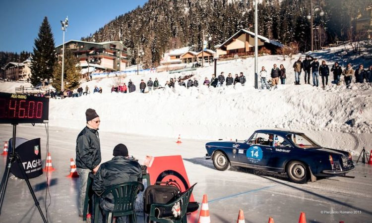 1960 Fiat 1500 Coupe - Winter Marathon Rally 2013