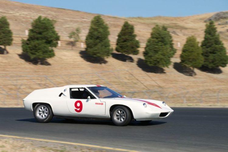 1967 Lotus Europa S driven by Dan Wardman in four.