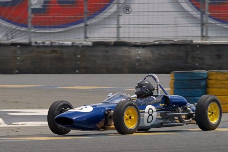 Philip Ribbs in his Lotus 27 F-Jr.