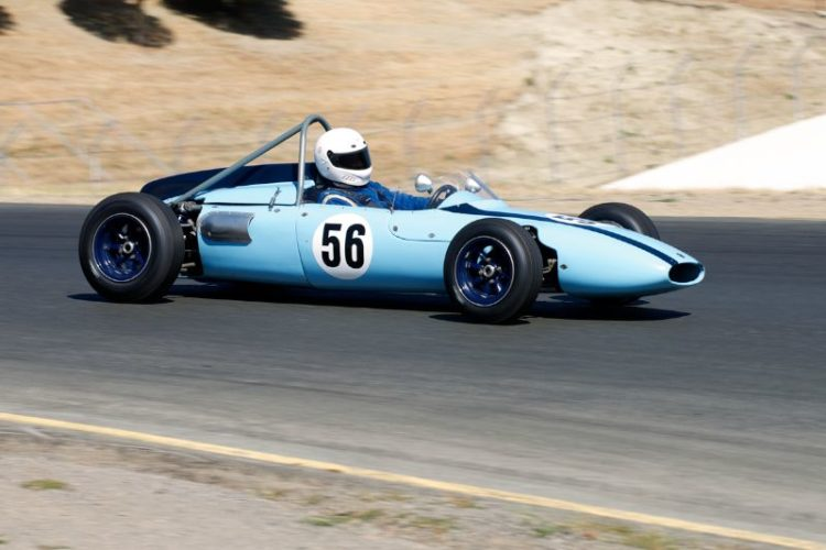 Maurice McCaig's 1961 Cooper T-51 in four.