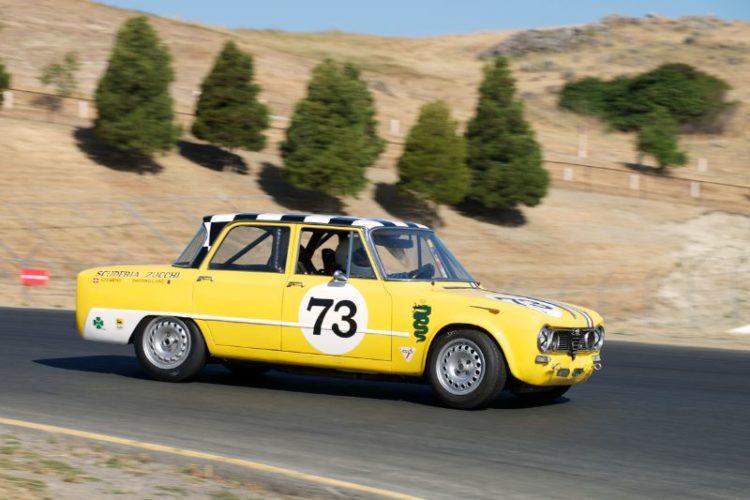 Frank Zucchi's Alfa Romeo Giulia TI in four.