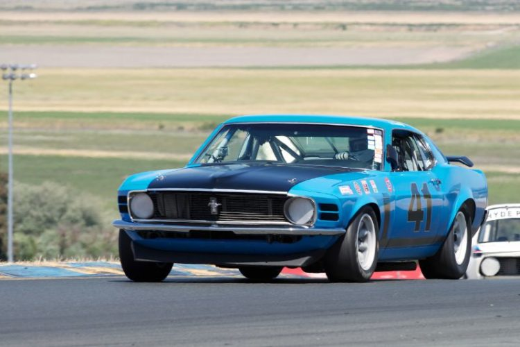 Robert Canepa's 1970 302 Boss Mustang in two.