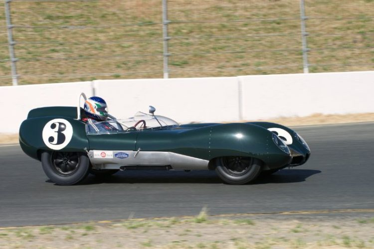 Michael Malone's Lotus Mk.15.