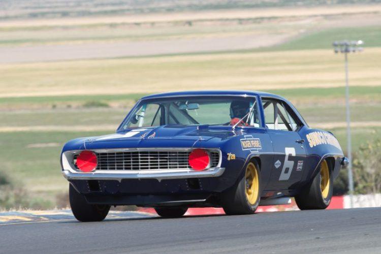 Bill Ockerlund's 1969 Camaro Z28 in turn two.