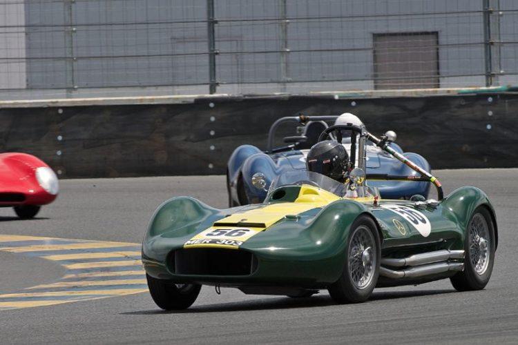 John Fudge's Lister Maserati in eleven.