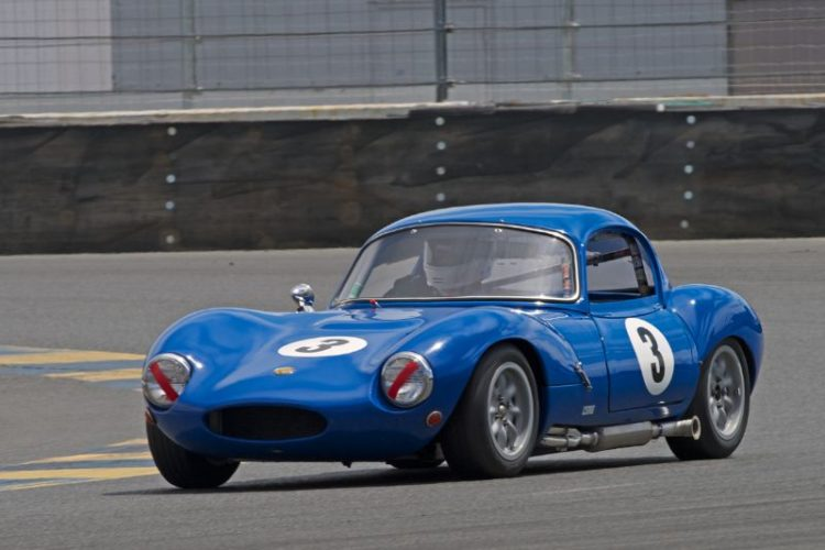 Robert Forbes in his 1964 Ginetta G4R in eleven.