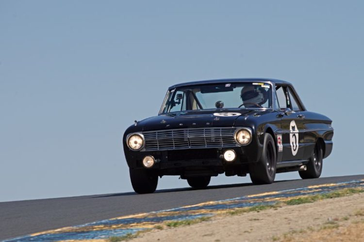 1963 Ford Falcon driven by Michael Eisenberg in three.