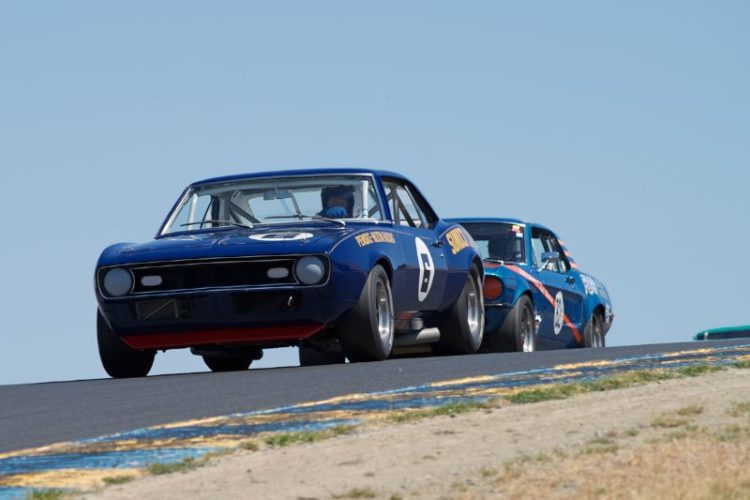Tom McIntyre's 1968 Camaro in three.