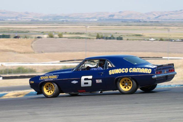 Bill Ockerlund's 1969 Camaro Z28 in turn four.