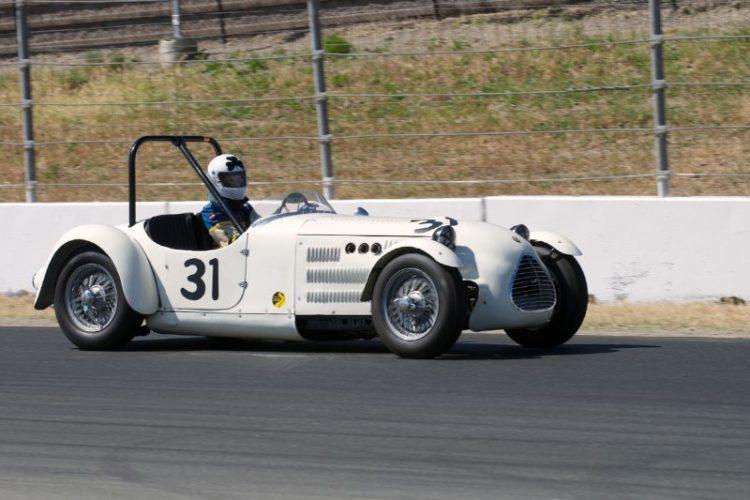 1949 Jaguar Parkinson Special driven by John Buddenbaum.