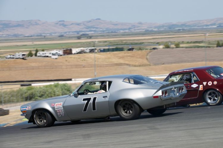 Jeffrey Stout's 1970 Chevrolet Camaro in four.