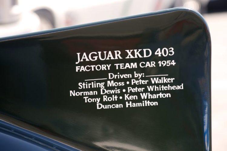 D Type Jaguar fin.