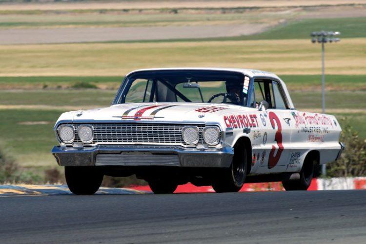 Jim Koehler's 1963 Chevrolet Impala in two.
