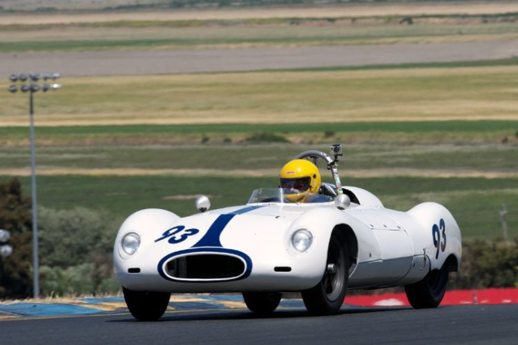 Jim Brown's 1955 Cooper Climax T-39 in turn two.