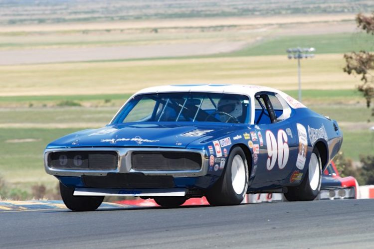 1972 Dodge Charger driven by Doug Schultz in two.
