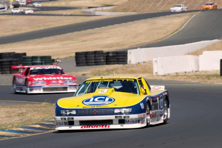 1990 Beretta driven by Peter Baljet in turn ten.