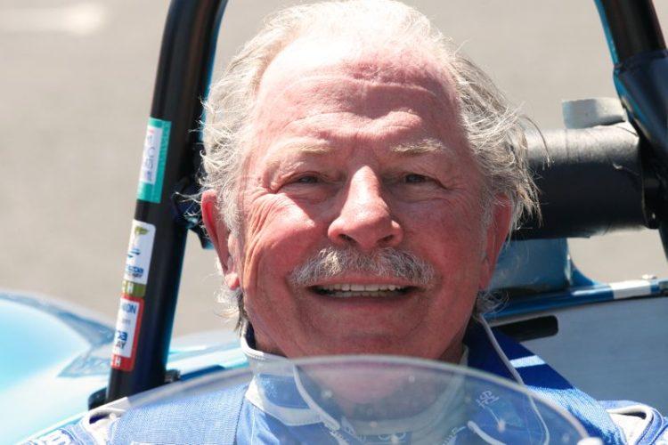 Robert Bodin driver of the #22 Jaguar Devin Special.