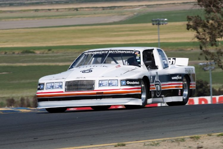 1985 Buick Trans-Am driven by Mike McNamee in two.