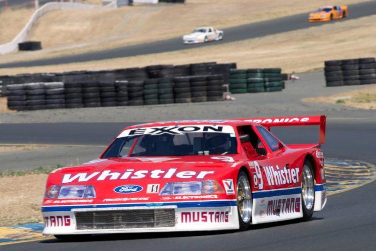 1991 Roush Mustang driven by Steve Schuler in ten.